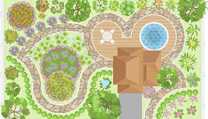 Landscape Design Mockup